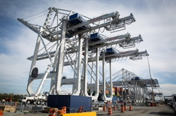 First of four new cranes starts work at Port of Savannah