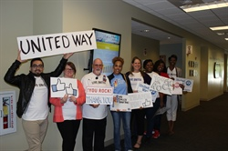 United Way employee contributions surpass GPA goal