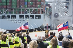 Gov. Deal welcomes COSCO Development