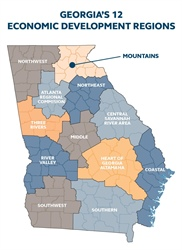 Georgia Mountains Region features diverse economic opportunities