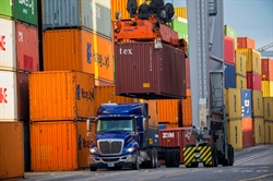 Savannah container trade up 12 percent