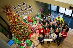 GPA employees share holiday cheer with CASA kids
