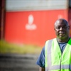 Michael Waterman is a second generation longshoreman who works at the Port of Savannah.