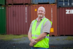 George Ridgeway is a crane operator at Georgia Ports Authority.